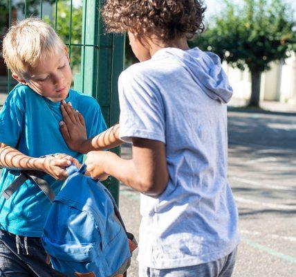 التنمر بين الاطفال الاسباب والحلول